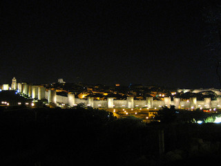 Avila by night