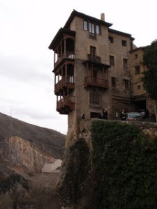 Casas Colgadas de Cuenca - the hanging houses (photo c/o elainne_dickinson)